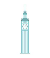 London Big Ben Icon