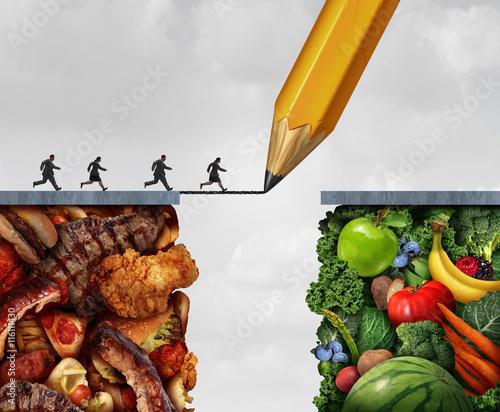 Fotografie, Obraz  Changing To Vegan