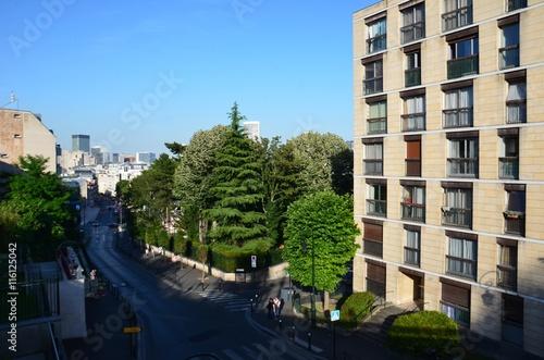 Fotografie, Obraz  Ville de Pureaux vue de la Gare