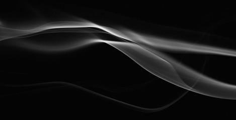 gray abstarct waves