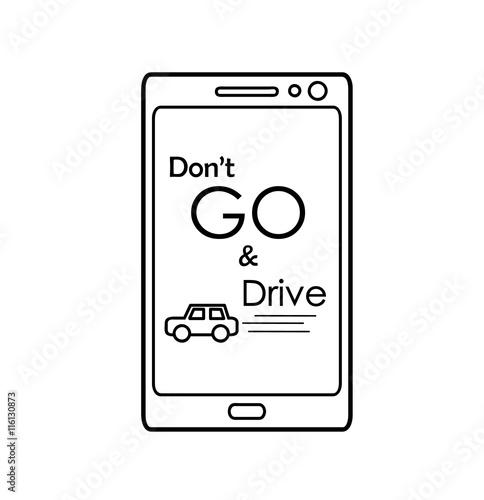 Photo  Don't GO and Drive
