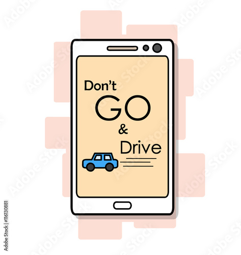 Don't GO and Drive Poster