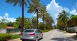 Driving through Golden Beach Florida