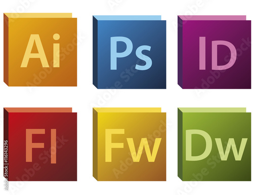 Photo Adobe CS5 Logos