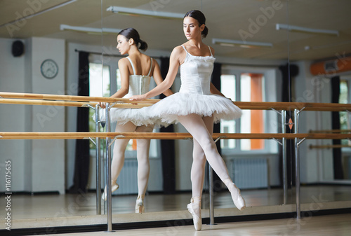 obraz dibond Graceful ballerina