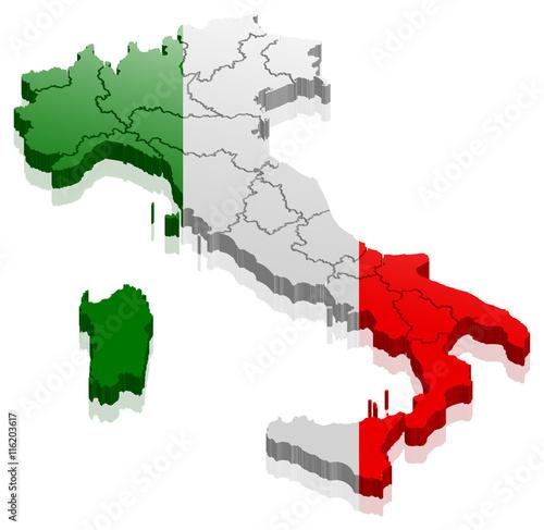 Italien Stiefel Stock Vektorgrafiken, Bilder und