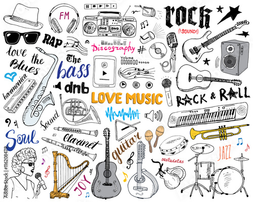 music-instruments-set-hand-drawn-sketch-vector-illustration-isolated