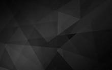 Abstract Dark Polygonal Mosaic...
