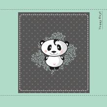 Baby Panda Design Card