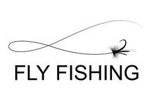 Fly Fishing Hook, Vector
