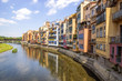 Girona - Colorful houses