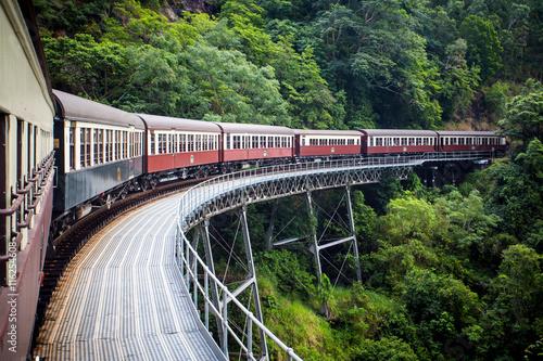 Poster Voies ferrées Historic Kuranda Scenic Railway