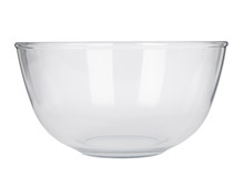 An Empty Glass Mixing Bowl Iso...