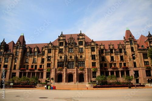 Fotografie, Obraz  St. Louis City Hall - Landmark building on Market Street.
