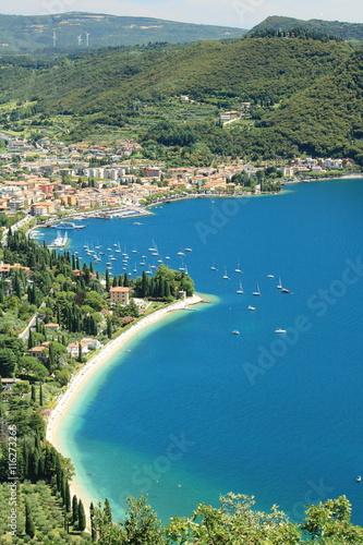 Obraz na płótnie City Garda at Garda lake