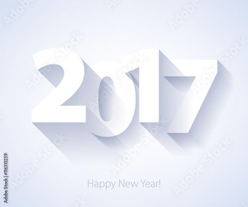 Happy New Year 2017 background. Fototapete