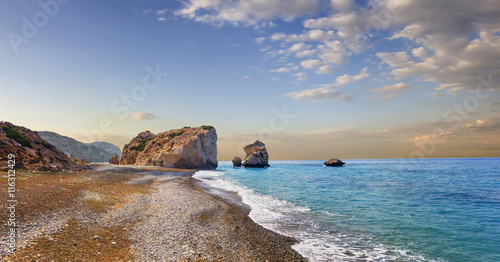 Photo sur Toile Chypre Bay of Aphrodite. Paphos, Cyprus