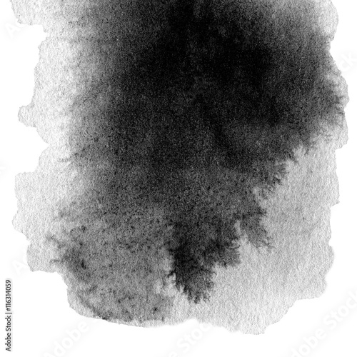 hand-drawn-watercolor-black-stain-with-water-color-paint-blotch