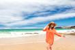 Badeurlaub am paradiesischen strand