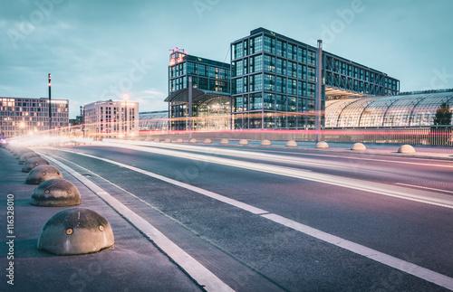 Zdjęcie XXL Główny dworzec kolejowy w Berlinie   Berlin, Niemcy