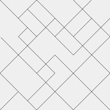 Geometric Simple Black And Whi...