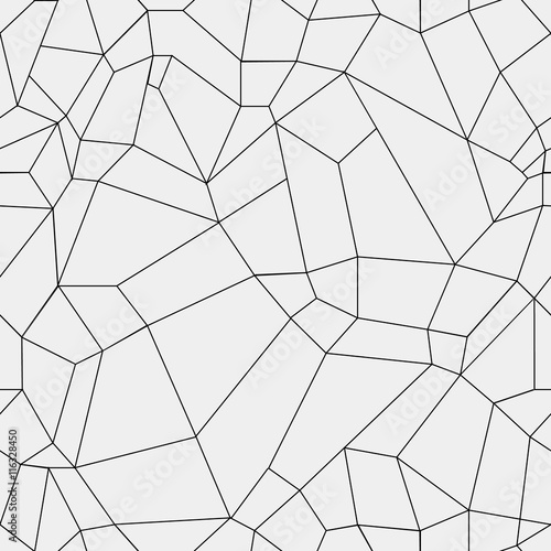 Geometric Simple Black And White Minimalistic Pattern Rectangles Or