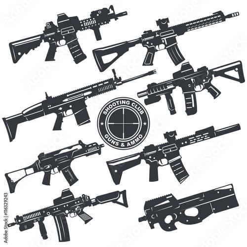 Fotografía  weapon rifle emblem4