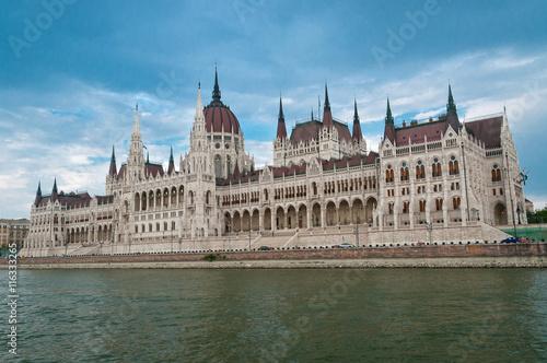 Fotografie, Obraz  Hungarian Parliament Building in Budapest.