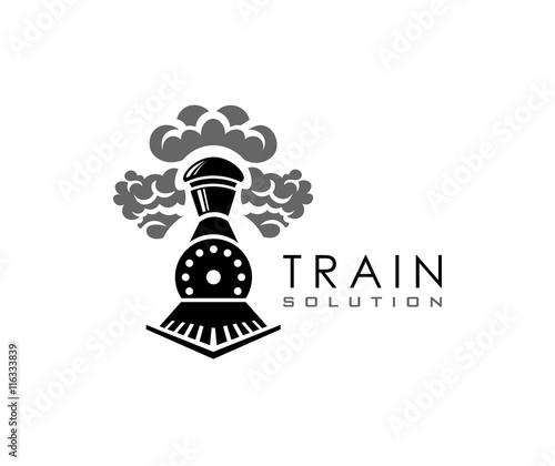 Cuadros en Lienzo Train logo