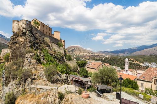 Fotografie, Obraz  Corte citadel in Corsica