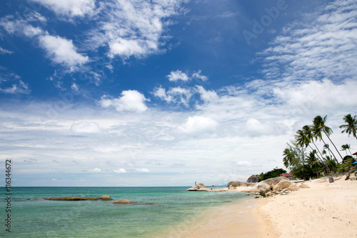 Poster Zanzibar tropical sea