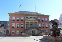 Rathaus Am Marktplatz In Detmold