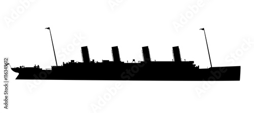 Photo The Titanic Silhouette