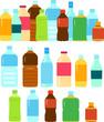 ペットボトルや瓶入りの飲み物