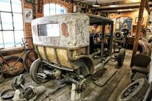 Inscenation Of The Vintage Car...