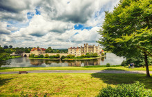 View At Leeds Castle And Park