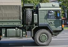 Military Truck Vehicle