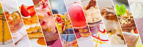 Foto op Plexiglas Bakkerij desserts