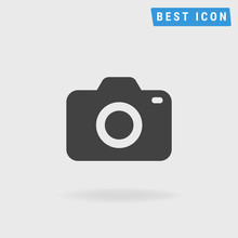 Camera Icon, Vector Icon Eps10.