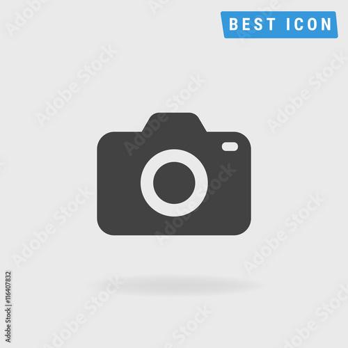 Camera Icon, Vector icon eps10. Wall mural