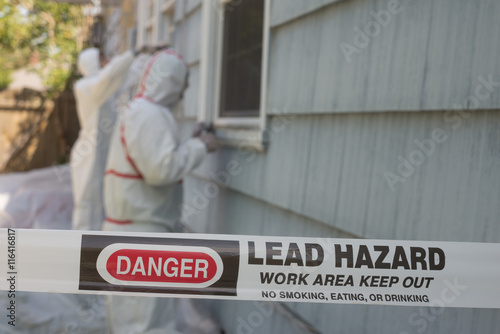 Lead Paint Hazard Canvas Print