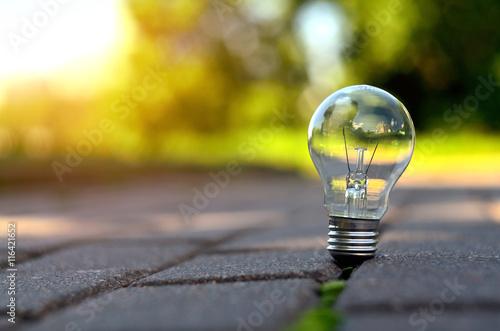 Lamp on the ground © Giddrid