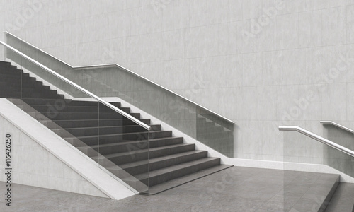 Photo sur Toile Escalier Modern stylish staircase