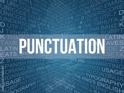 Valokuva  punctuation