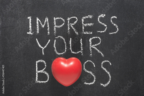 Fotografija  impress your boss