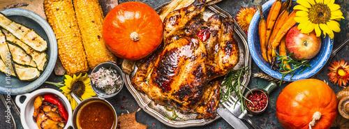 Fototapeta Thanksgiving Day food