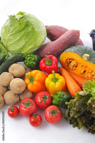 野菜の集合 Vegetable set © Nishihama