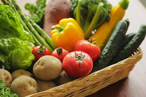Fototapeta 野菜の集合 Vegetable set obraz