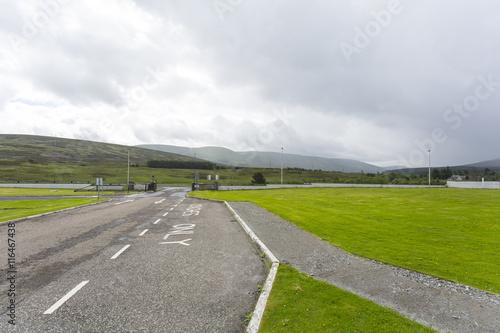 Foto op Aluminium Luchthaven scottish highlands