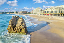 Grande Plage Beach In Biarritz